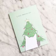 Kay Barker 'I Will Destroy You' Christmas Card